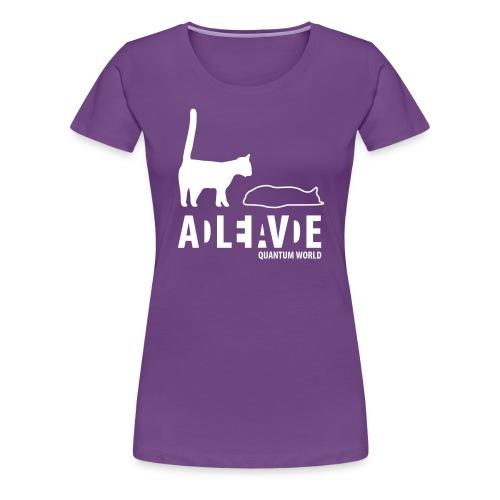 new uncertainty - Vrouwen Premium T-shirt