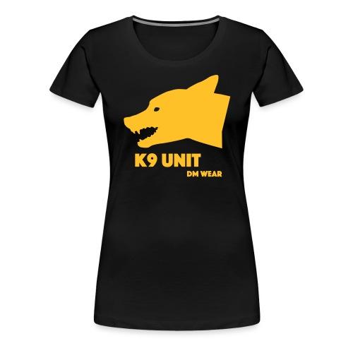 dm wear K9 unit yellow - Women's Premium T-Shirt