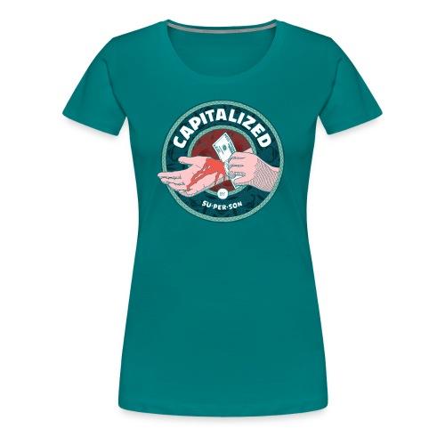 capitalized-tshirt - Dame premium T-shirt