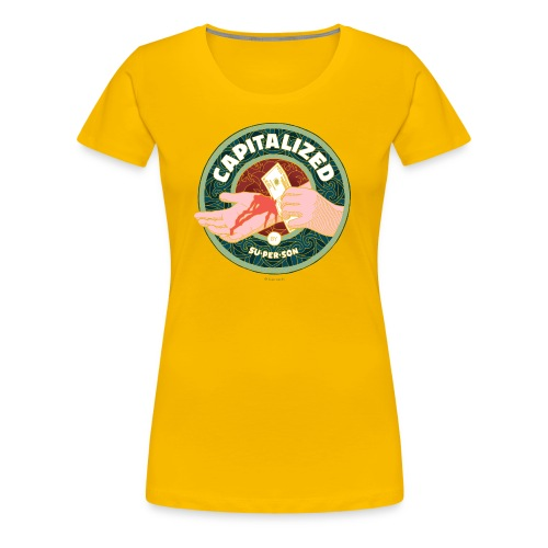Capitalized - Dame premium T-shirt