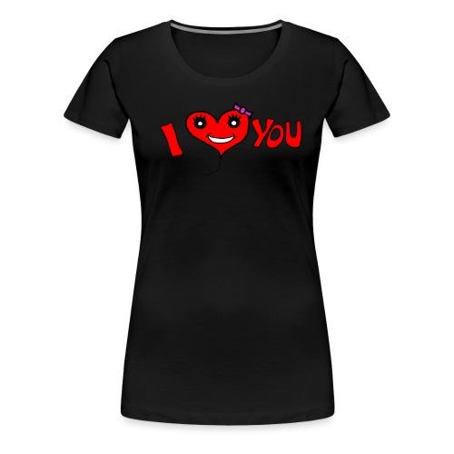 ich liebe dich - Frauen Premium T-Shirt