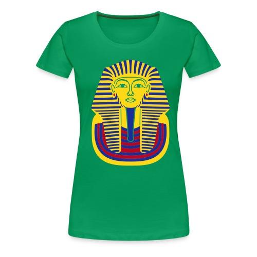 Tutankhamun Mask - Women's Premium T-Shirt