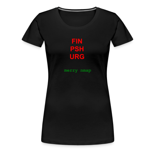 Merry nmap - Women's Premium T-Shirt