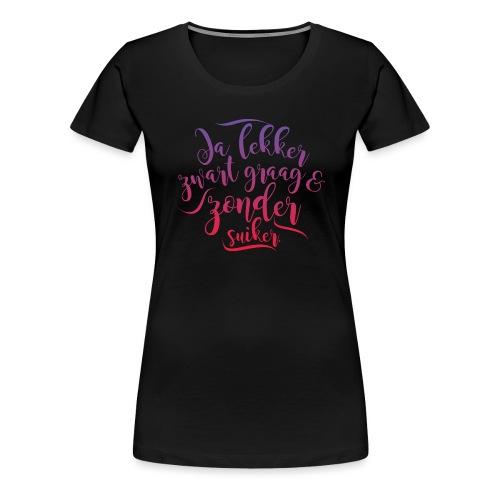 Koffie - Vrouwen Premium T-shirt