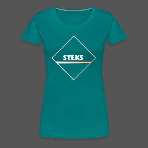 3Color STEKS™ Logo - Vrouwen Premium T-shirt
