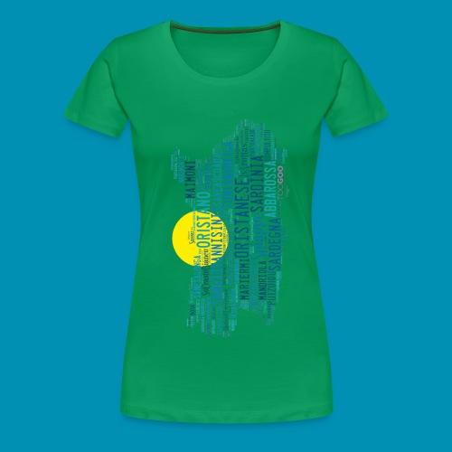 Spiagge Oristano png - Maglietta Premium da donna