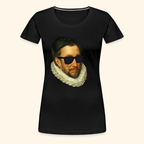 Fijn Uitgedoste Barbaar (zonder tekst) - Vrouwen Premium T-shirt