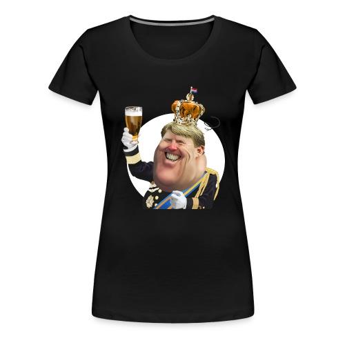 Willem-Alexander T-Shirt - Vrouwen Premium T-shirt