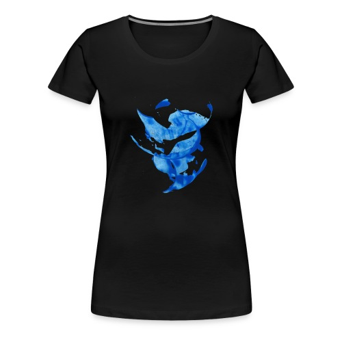 Blue circle - Maglietta Premium da donna