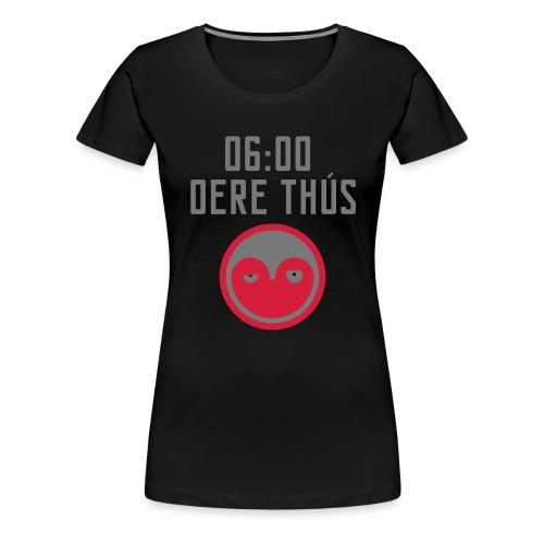 6 oere tus - wit - Vrouwen Premium T-shirt