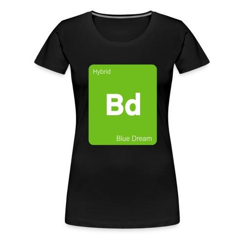Blue Dream Strain Cannabis Weed Stoner - Frauen Premium T-Shirt