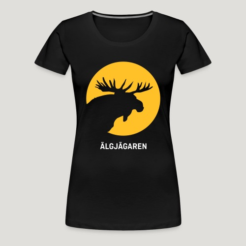 Älgjägaren - moose hunter (swedish version) - Frauen Premium T-Shirt