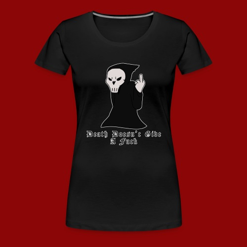 Death the Grim Reaper - Women's Premium T-Shirt