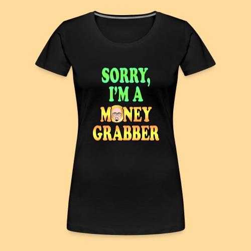 GrabberFace - Maglietta Premium da donna