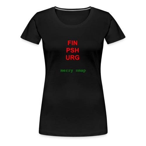 Merry nmap - Women's Premium T-Shirt