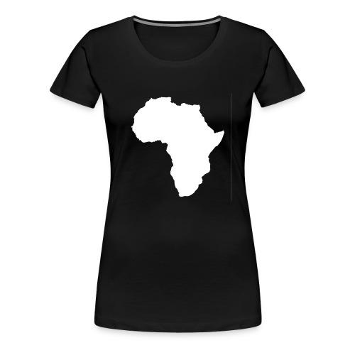 Africa Weiß - Frauen Premium T-Shirt