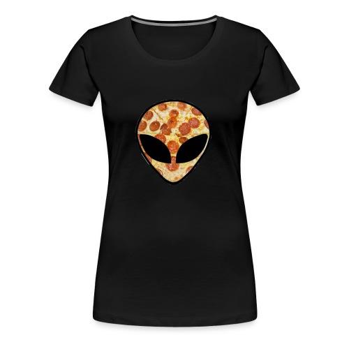Pizza_alien - Maglietta Premium da donna