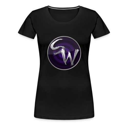 round logo hoodie - Vrouwen Premium T-shirt