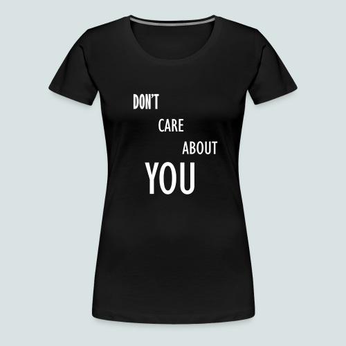 DCAY - T-shirt Premium Femme