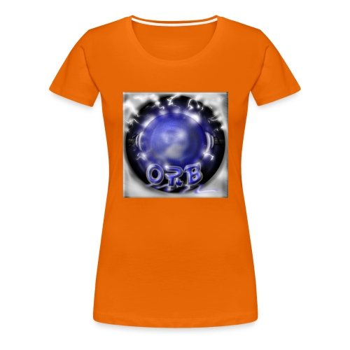 Hyperspace potato Blue Orb - Women's Premium T-Shirt