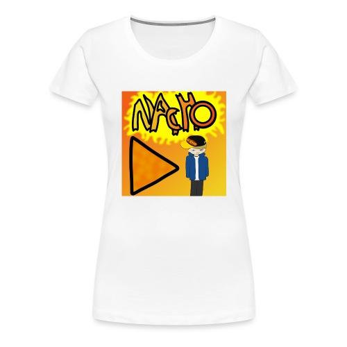 Nacho Title with Little guy - Women's Premium T-Shirt