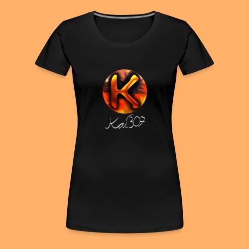 Kai_307 - Profilbild + Unterschrift Weiß - Frauen Premium T-Shirt