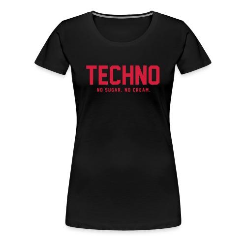 Dark Techno - Women's Premium T-Shirt