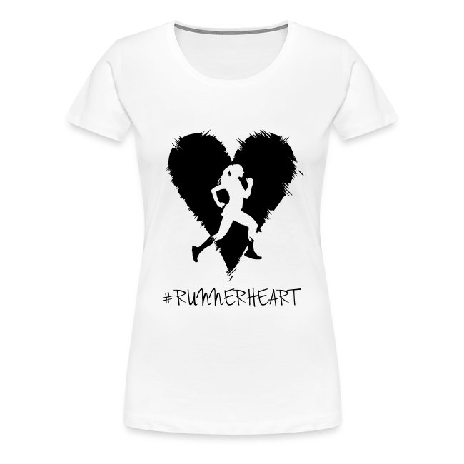 #Runnerheart Girl small