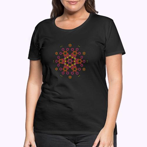 Mandala Nube - Camiseta premium mujer