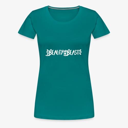 Beauty and the Beast - Women's Premium T-Shirt