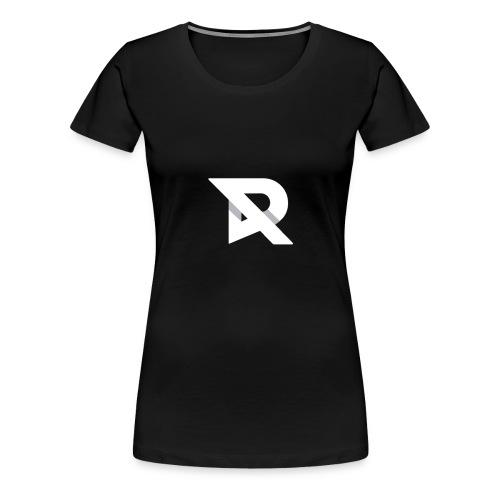 RubiiDesigns X WhiteT - Dame premium T-shirt