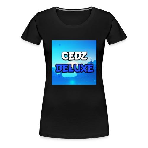 CedZDeluxe Merch - T-shirt Premium Femme