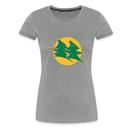 Forest Jump Logo 2farbig - Frauen Premium T-Shirt
