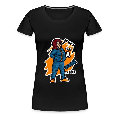 SCP Design 2 Transparent png - Women's Premium T-Shirt