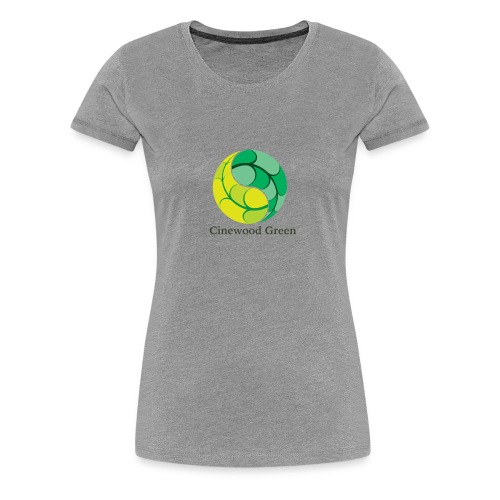 Cinewood Green - Women's Premium T-Shirt