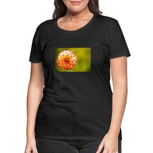 Blomst - Dame premium T-shirt