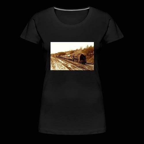 Dampflok BBÖ 12.10 - Frauen Premium T-Shirt