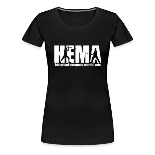 HEMA historical european martial arts - Women's Premium T-Shirt
