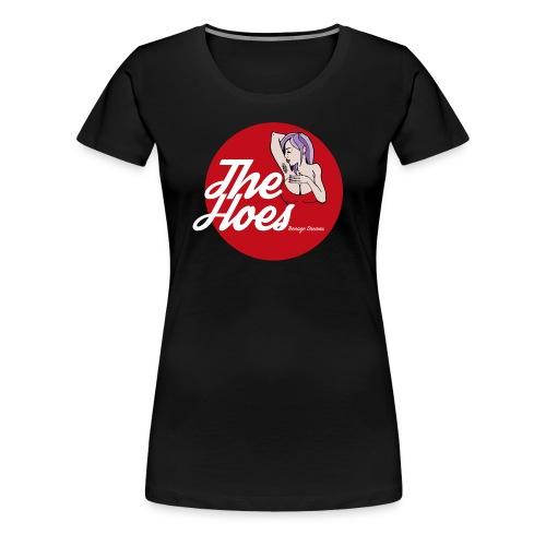 The Hoes Teenage Dreams Red - Frauen Premium T-Shirt