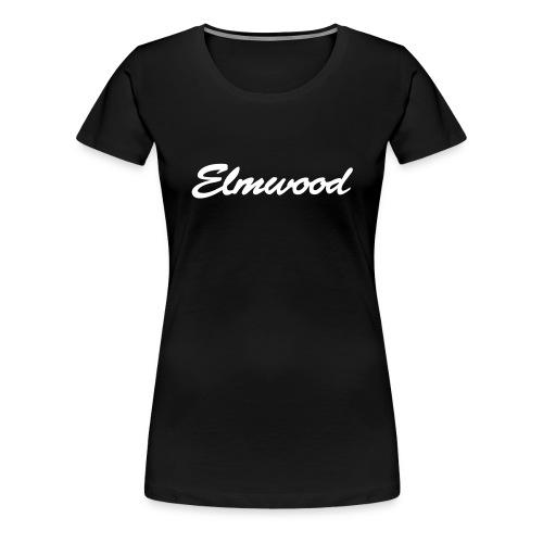 elmwood logo clean - Women's Premium T-Shirt