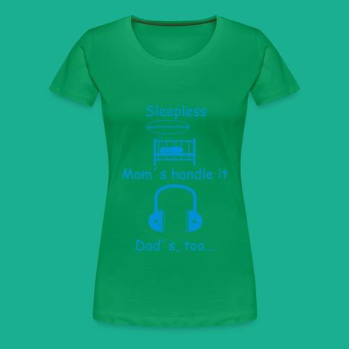 Sleepless - Frauen Premium T-Shirt
