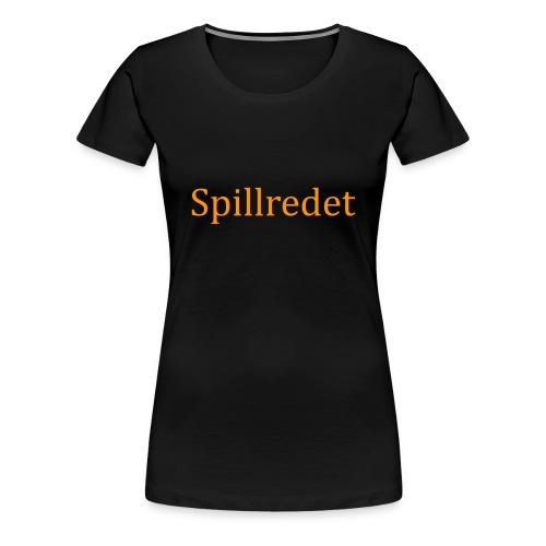 Spillredet - Premium T-skjorte for kvinner