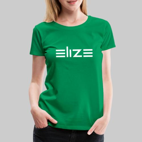 ELIZE Logo Vektor - Frauen Premium T-Shirt