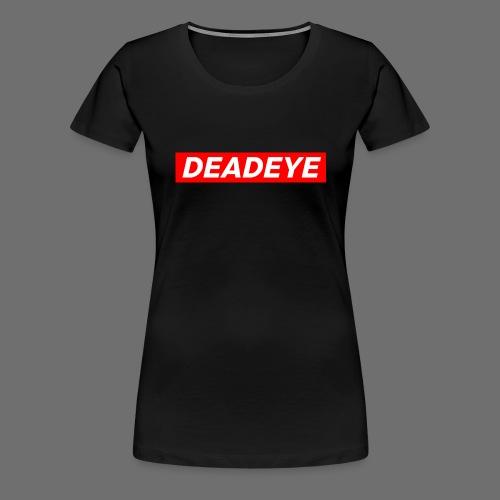 DeadEYE BOXLOGO - Premium T-skjorte for kvinner