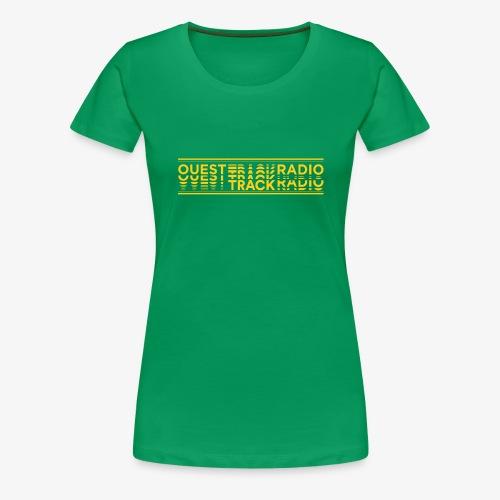 Logo Long jaune - T-shirt Premium Femme