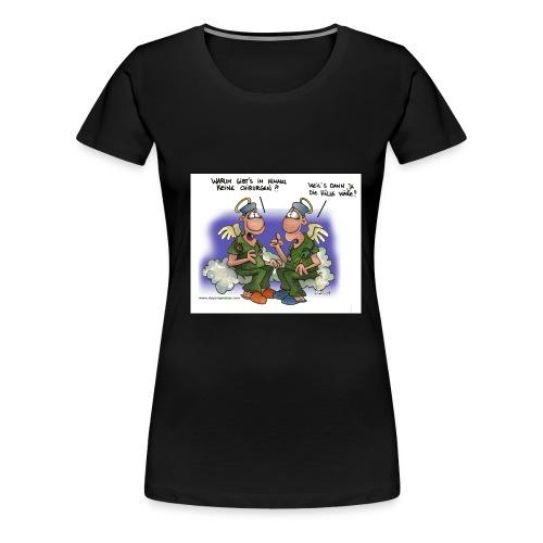 himmel - Frauen Premium T-Shirt