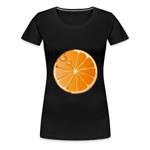orange - Frauen Premium T-Shirt