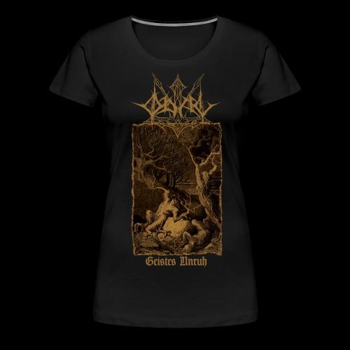 GU FRONT png - Frauen Premium T-Shirt