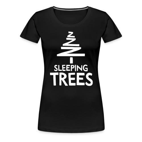 SleepingTrees White png - Women's Premium T-Shirt