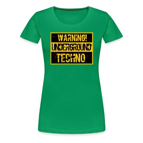 WUT png - Women's Premium T-Shirt